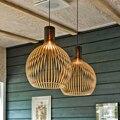 Креативная железная клетка  Подвесная лампа  Минималистичная гостиная  кабинет  лестница  круговой ресторан  птица  лампа  современный свет...