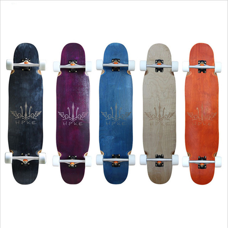 Professional Skate Longboard Deck Cruising Freeride Freestyle Downhill Longboard For Kinds Adults 98CM