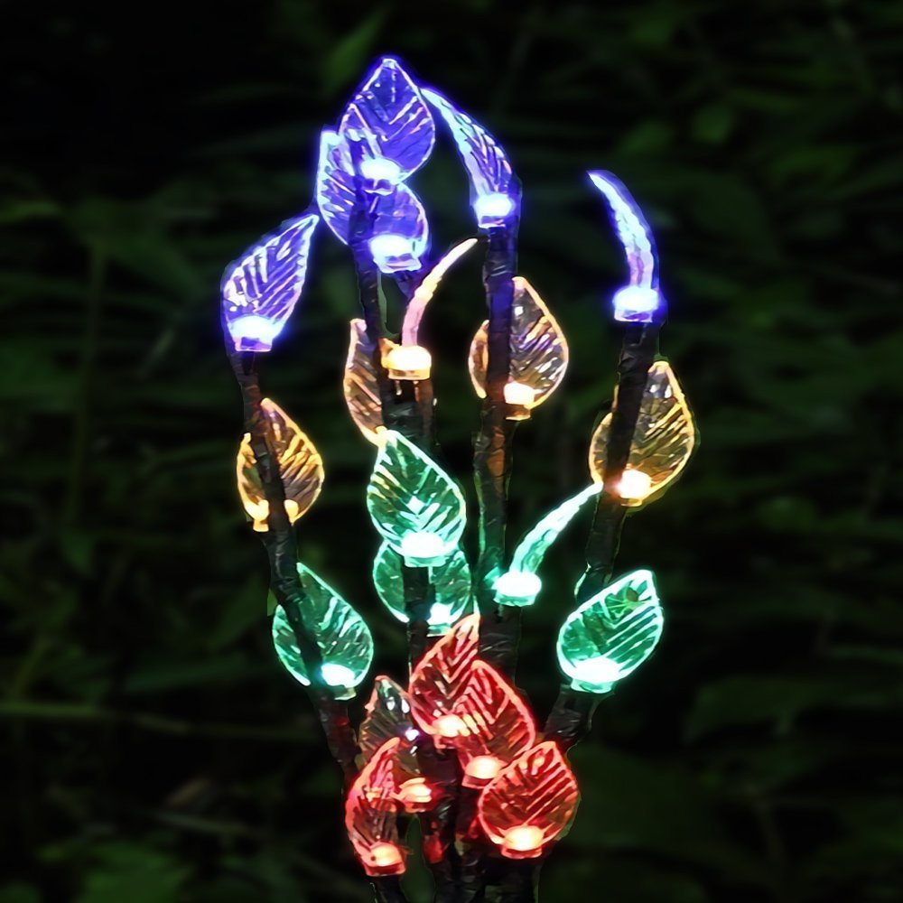Solar Garden Lights Outdoor Powered Tree Shaped 3 Decoration Light 100 Led 12 Meter Lampu Hias Taman Branches With 60 Leds Stake For Pathway Landscape In Lamps From