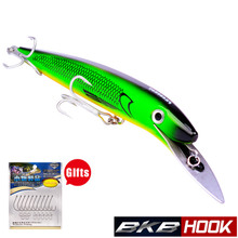 47g 20cm Minnow Fishing Lure for Twitch Easy Long Wobble Sinking with Treble Hook 5# Minnow Hard Bait For Sea Fishing wlure 5 3g 8 3cm slim minnow lure very tight wobble slow sinking 2 6 treble hooks epoxy coating fishing lure m662