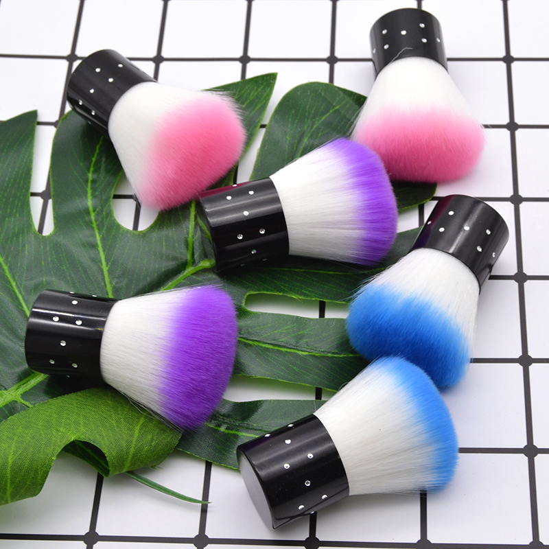 Image 4 - LaMaxPa dipping powder brush skin friendly soft easy to use convenient to carry dipping powder brush nail art salon-in Nail Glitter from Beauty & Health