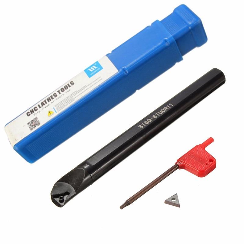 S16Q-STUCR11 16 x180mm Internal Turning Toolholder Boring Bar For TCMT1102