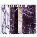 Phone Case For iPhone 6 6 s 6 plus 5 5s SE ТПУ мягкий Мрамор каменные изображения Окрашенные Обложка Мобильный Телефон Сумки & Case Для iphone 6 6 S 4.7