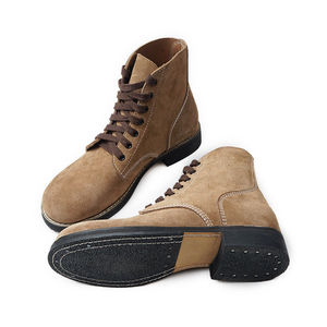 Image 5 - Replica WW2 US Army GI Rough Out Ankle Boots American Leather Boots All Sizes US/406113