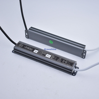 DC 12V 24V Power supply IP67 30W 60W 100W 150W 200W Waterproof transformer LED Lamp Driver CE ROHS