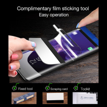 10D Full Cover Soft Hydrogel Film For iPhone XS Max XR X 8 7 6 6S Plus HD Slim Screen Protector Film 8 7 Plus Not Tempered Glass купить недорого в Москве