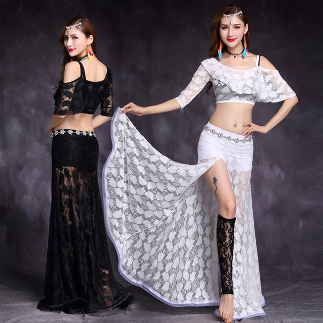 Oriental dancing costume Belly dance hair swinging Indian baladi saidi dance costumes Bellydance robe bra belt skirt dress 3271
