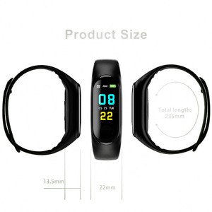 Image 3 - Cyfrowy zegarek mężczyźni lub kobiety inteligentny zegarek tętna krwi PressureSleep monitora krokomierz połączenia Bluetooth Smart band