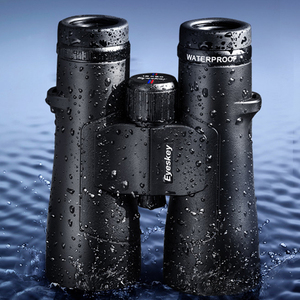 Image 3 - מקצועי צבאי גג Bak4 פריזמה 10X50 משקפת עוצמה ציד טלסקופ חנקן עמיד למים משקפת Lll ראיית לילה