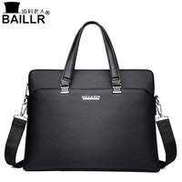 High Quality Leather Men Tote Bags Business Shoulder Bag Fashion Handbags Male Laptop Briefcase Travel Bags