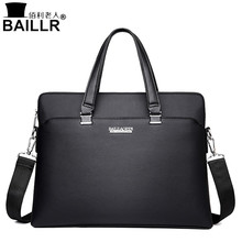 High Quality Leather Men Tote Bags Business Shoulder Bag Fashion Handbags Male