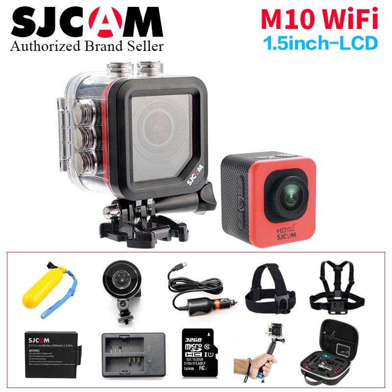Original SJCAM M10 wifi Action Camera Sport SJ Cam Underwater Wifi Mini Camcorder 1080p HD Camcorder mini sj 4000  Waterproof DV in stock sjcam legend sj6 wifi notavek 96660 4k 24fps ultra hd waterproof camera action cam 2 0 touch screen remote sport dv