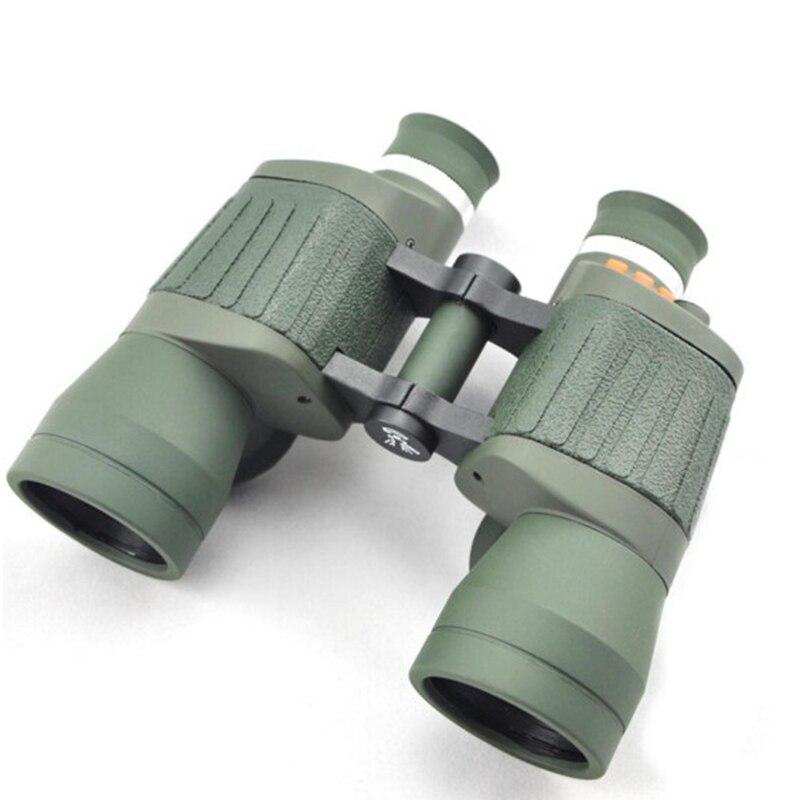 Visionking Fixed Focus 10x50 Porro Binoculars With Reticle and Light Outdoor Travelling Hunting Telescope Binoculars Waterproof