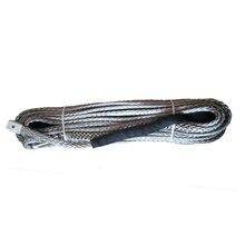 14 мм x 50 метров синтетический трос лебедки с 2 метров черный защитный рукав бесплатная доставка