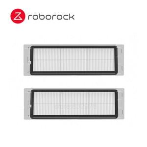 Image 2 - قطعة أصلية من فرشاة Roborock قابلة للفصل ، فلتر قابل للغسل قطعة قماش يمكن التخلص منها لهاتف Mi 1 1S Roborock S50 S55 S6 E20 E35 S5 MAX
