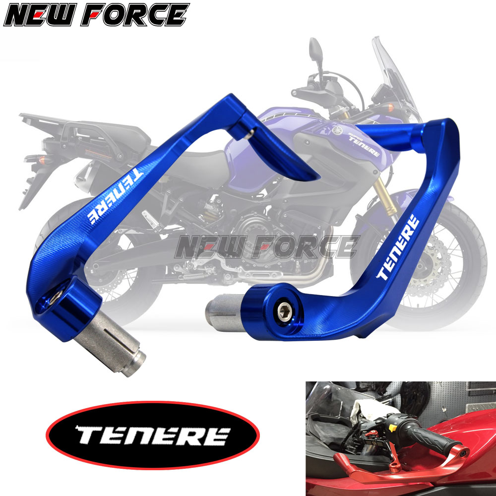 Universal 78 22mm Motorcycle Handlebar Brake Clutch Levers Protector Guard For YAMAHA XT660Z Tenere 2008-2015