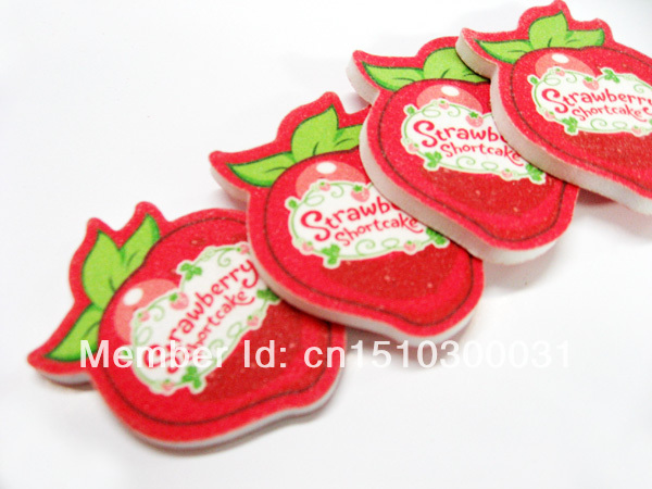 200 Pcs Mini Cute Nail File Berries Shape Sandpaper