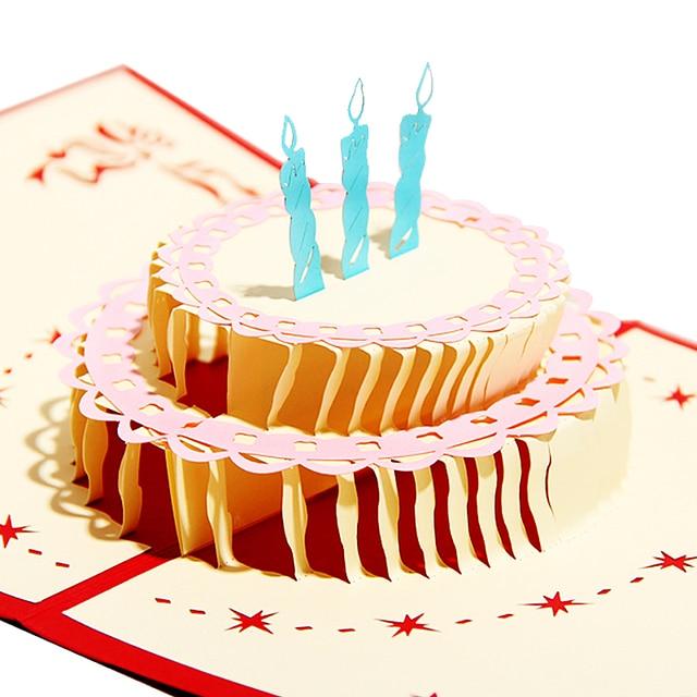 Обемная открытка на день рождения, открытки любимому