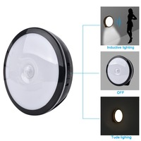 Espow Motion Sensor Bright LED Night Light Wireless Rechargeable Build In Lithium Battery Cabinet Bedside Home