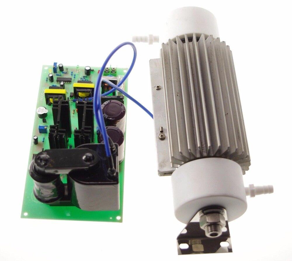 Uscita 20 g/h 110VAC 220VAC Tubo di Ceramica di Acqua Sterilizzazione Purificare Generatore di Ozono Set Power + Tubo