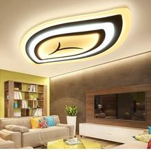 Fernbedienung wohnzimmer schlafzimmer moderne led-deckenleuchten luminarias para sala dimmen led deckenleuchte Leuchten
