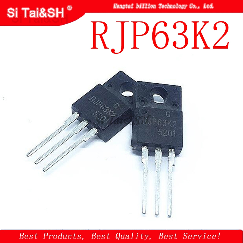 10Pcs RJP63K2 TO-220F 63K2 TO220F Liquid Crystal Pla New Original