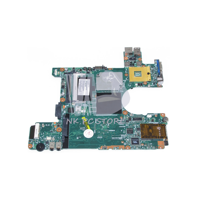 V000078020 1310A2076902 Main Board For toshiba satellite M115 Laptop motherboard 945gm DDR2 with Free CPU