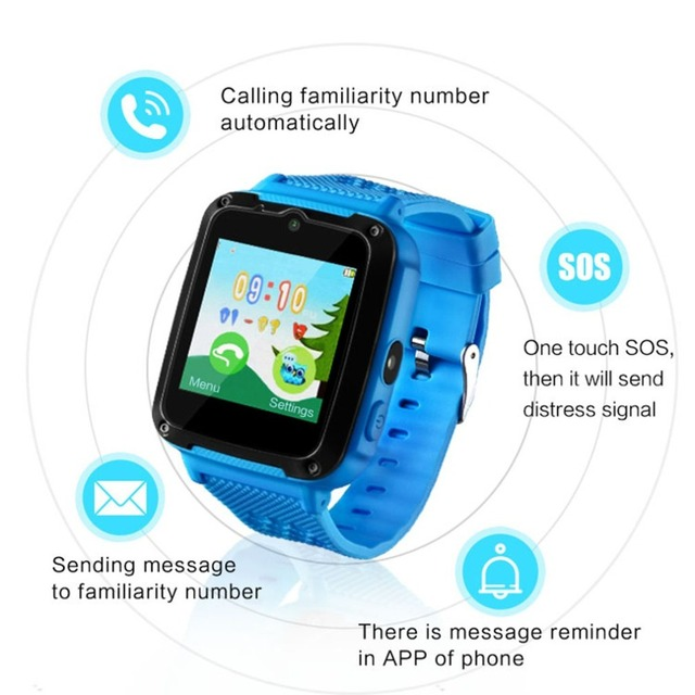 Children's Bluetooth Smart Watch Kids Waterproof Health boys watches Sleep Secur
