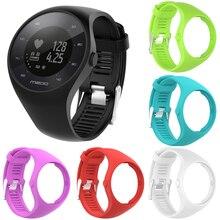 51df6a94718 Nieuwe Nuttig Premium Siliconen Zachte Band Horloge Polsband voor Polar  M200 GPS Horloge Accessoires Vervanging(