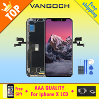 Original A++++Top Quality No Dead Pixel screen for iPhone X LCD display Replacement with Touch Digitizer Assembly Replace Screen