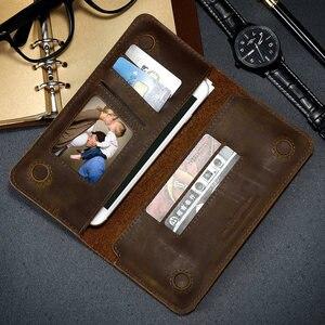 Image 5 - CASESHIP אמיתי עור ארנק מקרה עבור iPhone 7 8 X ארנק כרטיס חריצי יוקרה טלפון תיק פאוץ עבור iPhone 7 8 6 S בתוספת מקרים