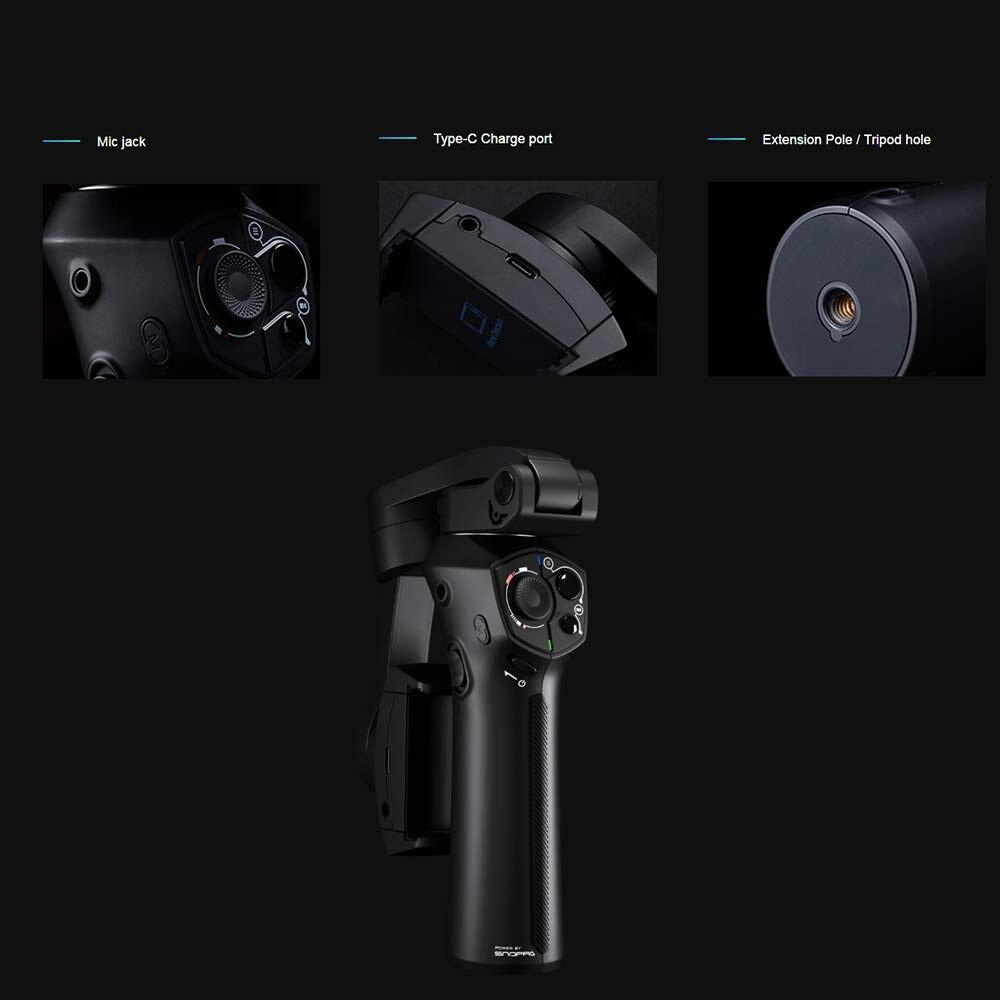 Snoppa Atom складной карманный Дрон Размер затрудняетесь в выборе правильного размера? 3 осевой ручной шарнирный стабилизатор для камеры для iPhone samsung XiaoMi huawei для Gopro 6 7 PK гладкой 4 - 3