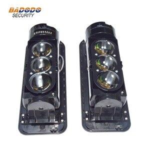 Image 3 - 3 Beams 250m waterproof IP55 Active Infrared Laser Beam Sensor Motion Detector Active Infrared Sensor outdoor Home Alarm System