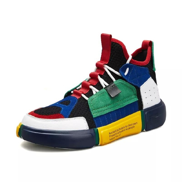7315eb88a37bc New-Super-Classic-Retro-Men-Tennis-Shoes-Genuine-Leather-AIR -Mesh-Sneakers-Cushion-Sports-Shoes-Outdoor.jpg_640x640.jpg