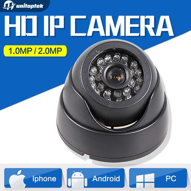 HD 1080 P 720 P IP Cámara Securiy Red Mini Domo PoE Opcional 1.0mp cámara de 2mp cctv ip onvif p2p nube iphone android view