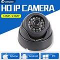 HD 1080 P 720 P Ip-камеры Securiy PoE Опционально Сеть Мини Купольная 2-МЕГАПИКСЕЛЬНАЯ Камера ВИДЕОНАБЛЮДЕНИЯ IP Onvif 1.0MP P2P Облако iPhone Android Посмотреть