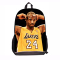 Fashion Super Star Kobe Backpack For Students Kids School Book Backpacks for Child Primary School Bags Boys Back To School New