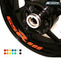 8 X CUSTOM INNER RIM DECALS WHEEL Reflective STICKERS STRIPES FIT SUZUKI GSR 600