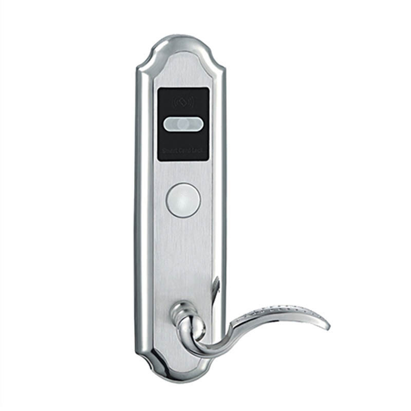 Electronic RFID Card Door Lock with Key For Home Hotel Apartment Office Latch with Deadbolt Electric Lock lkV310BS цена