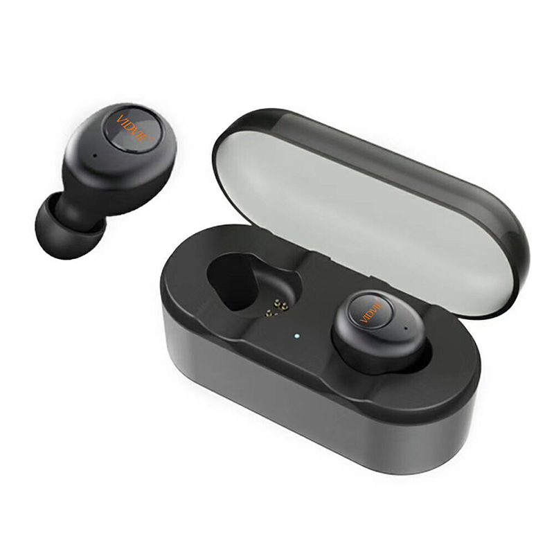 5pcs True Wireless Earphone Bluetooth Handsfree Earbuds Stereo Headset Mini Earpieces Headphone With Built-in Microphone BT818 wireless headphones earbuds built in microphone stereo headphone headset handsfree noise canceling handsfree bluetooth 4 1 bt815