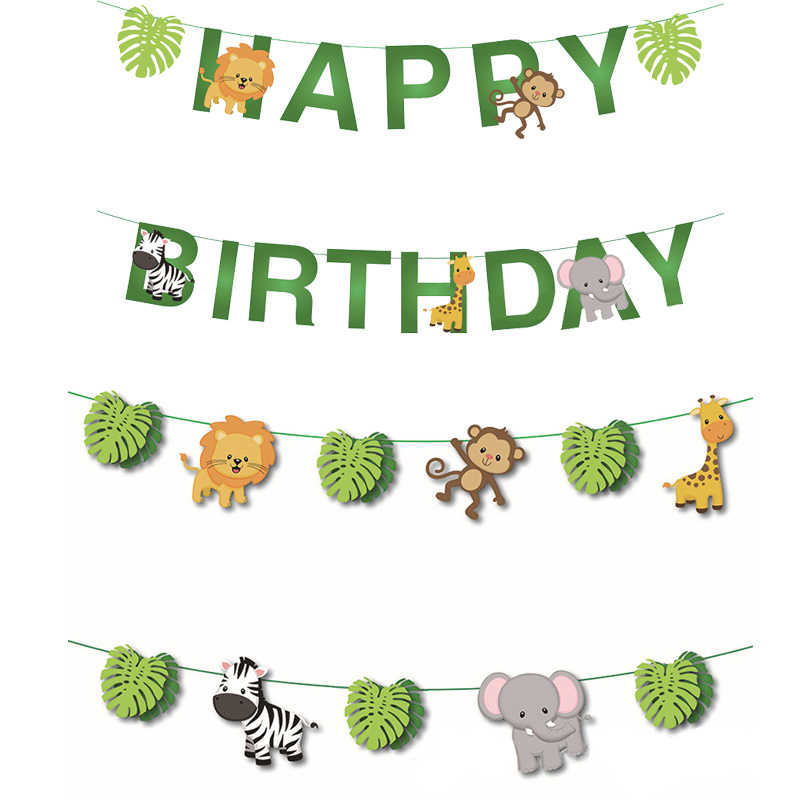Farm Animal Happy Birthday Party Bunting with additional animal Banner 27 Pieces