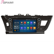 Top  Quad Core Android 5.1 Car DVD Vedio For TOYOTA Corolla 2013-  With Wifi Bluetooth GPS Free Map16 GB Flash