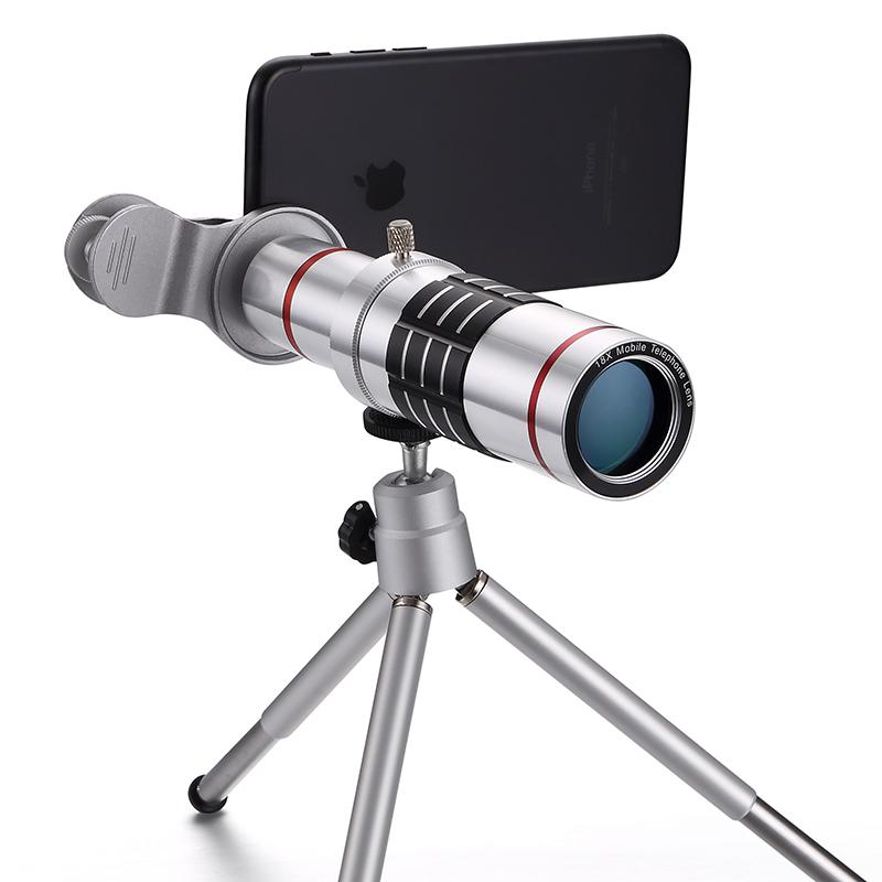 SNAPUM mobile phone 18x telescope Camera Zoom optical Cellphone telephoto Lens For iphone samsung Huawei oppo vivo xiaomi 5