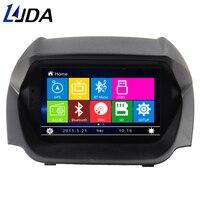 LJDA 2 din 8 дюймов Wince DVD плеер автомобиля для Ford EcoSport 2013 gps навигации развлечения системы мультимедийный авто радио