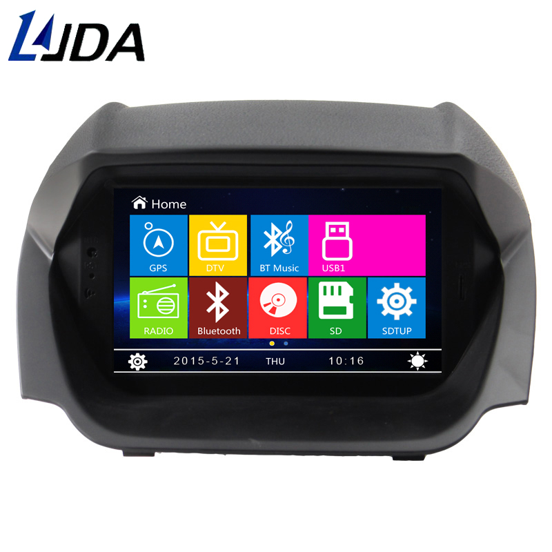 ljda 2 din 8 inch wince car dvd player for ford ecosport. Black Bedroom Furniture Sets. Home Design Ideas