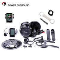 Special Offer Bicicleta Eletrica 8fun Bafang 48v1000w Bbshd/bbs03 Electric Bike Kit Mid Drive Motor Kits For Or Fat Ebike
