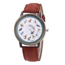 Minimalist Women Bracelet Watches Denim