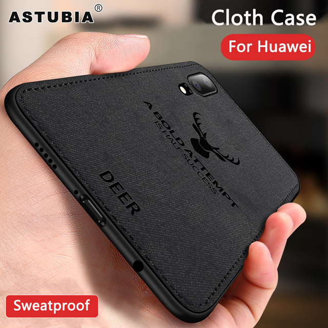 Case For Huawei P20 Lite Case Pro Cloth Deer Cover For Honor 10 V10 8X Note 10 9 Mate 10 P10 Lite Nova 3 3i Case P Smart Plus