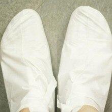 1 пара молоко бамбук уксус омертвевшие клетки кожи ног гладкая отшелушивающие маска для ухода за ногами(China (Mainland))