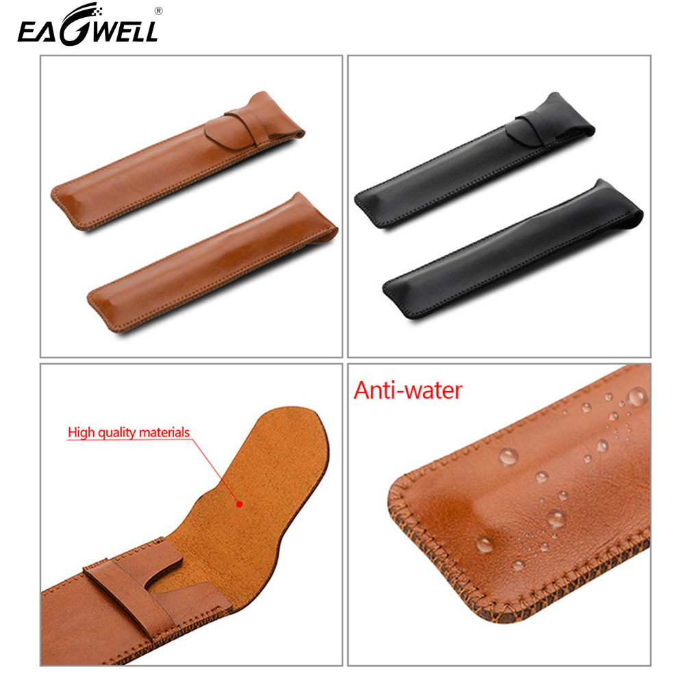 Ultra-thin PU Leather Sleeve Case Cover For Apple Pencil Cover Tablet Pen Pouch Bag Protector Anti-knock Bag (without Pen)